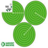 スプリンクラーの農業の潅漑の中心のピボット用水系統