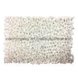 Céramique réfractaires à haute densité de l'alumine filtre en mousse pour moulage en aluminium