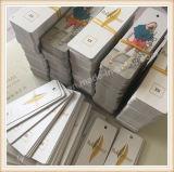 ペーパーこつの札の衣類の品質表示票の衣服の印刷されるカスタム衣服のこつの札