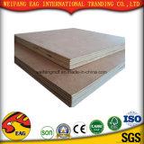 Madera comercial los álamos / Birch / Pine 1220*2440mm para los muebles de madera contrachapada