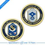 中国の熱い販売のエナメルの記念品の/Police/Militaryの硬貨