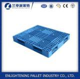 HDPE 6ton que empilha a pálete plástica exalada para o armazenamento da farinha