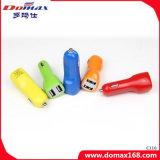 Bewegliche Handy-Gerät 2 USB-Adapter-Auto-Aufladeeinheit Doppel