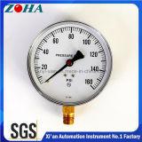6 Polegadas 160 Psi Manômetros comum para a medição da pressão de gás ou líquido