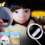 Apple 렌즈 아름다움 충분한 양 빛 LED 아름다움 소녀 섬광 각자 타이머