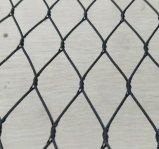 Corda entrelaçado/mão do aço inoxidável de fio/engranzamento tecidos/atados do cabo