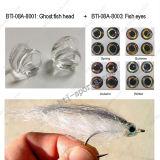 Pesca di mosca popolare che lega le teste materiali dei pesci del fantasma, testa di plastica 08A-8001 dei pesci