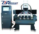 CNC Machine, CNC vlak-Roterende Graveur 7090