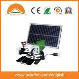 (T-107) Système solaire portatif portable Wih 10W Polycrystalline Solar Panel