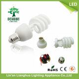 Figura di U/a metà spirale/in pieno spirale/lampada economizzatrice d'energia del loto 3000h-8000h, materia prima di CFL