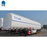 Tri-Axle 46000 litros de água petroleiro trailers de Aço Inoxidável