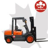 Entrepôt Diesel Forklift 4 Wheel Warehouse Small Disel Forklift