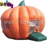 Halloweenの販売のための膨脹可能なカボチャ警備員の膨脹可能なジャンパーの弾力がある家