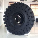 China sólido de alta Qulaity neumáticos OTR 17.5-25 con orificios laterales