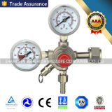 Messingdruck CO2 Regler für Gas-Zylinder-Miniplatten