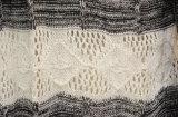 Cardigan tricoté barré parhiver de femmes
