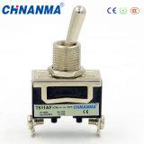 Commutateur 12VDC/24VDC de maneton de double de 3 interrupteurs à bascule de Pôle/3 Pôles