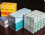 Película de papelão Tobacoo Cigarro automática de equipamento de cintagem