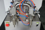 空気のステンレス鋼の半自動のりの充填機