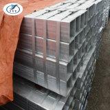1x1 pouce carré galvanisé tuyau/tube en acier pour la vente