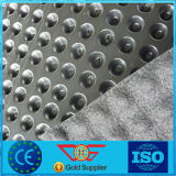 placa elevada da ondulação de 1mm densamente 20mm do material do HDPE