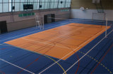 Patrón Baskestball interiores de madera pisos de PVC fabricado en China