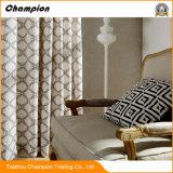 Tenda di finestra dell'hotel di qualità superiore, tenda domestica del commercio all'ingrosso della decorazione della tessile per il salone