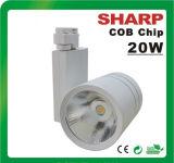 Gradation/Non réglable 20W COB Voie d'éclairage à LED