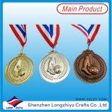 Медали металла бронзы серебра золота медали пожалования спорта для сбывания
