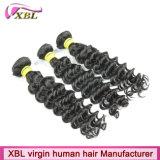 Prolongements bon marché de cheveux humains de cheveux mongols rapides de la livraison