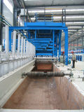 StahlWire Hot DIP Galvanizing Kettle für Zinc Coating