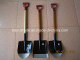 S501 Spade / Shovel com alça de madeira