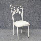 Cadeira de prata de Chiavari do ferro para o casamento e o banquete Yc-A105-01