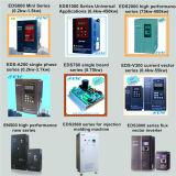 Frequenz-Inverter Cer SGS-ISO9001 380V 600Hz 1.5kw, Eds800-4t0015 2HP Wechselstrommotor-Laufwerk, variable Frequenz 1.5kw Fahren-VFD