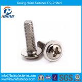 DIN967 de acero inoxidable de cabeza plana Phillps tornillos para metales