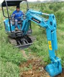 Mini escavatore Bd23 del cingolo di formato