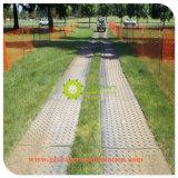 De plástico ligero PE Mat por carretera temporal para la construcción