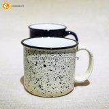 Caneca de café cerâmica da impressão bonita de Sopt da neve com punho