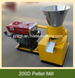 木製の供給のための機械を作る広く利用されたディーゼル機関の主導の小さい餌