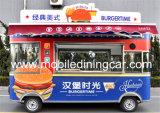 Nahrungsmittelverkauf-Schlussteil-Autos für Verkaufs-mobilen Gaststätte-LKW