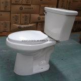 Hohe Leistungsfähigkeit leeren rundes Siphonic zweiteiliges Toiletten-Set mit 3 Zoll Befestigungen 9014