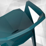 Venta al por mayor fabricante de la pila de Jardín Exterior silla de plástico