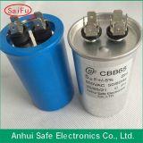 Хорошее качество RoHS 450VAC алюминиевом корпусе запуск двигателя и запустите конденсатор Cbb65