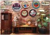 La birra del metallo di attaccatura di parete del mestiere del metallo firma la decorazione della parete