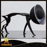 حديث أسلوب كلب تصميم طاولة ضوء ([كت8108])