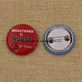 El Logotipo de promoción de la impresión personalizada Tin Button Badge