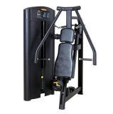 Наклон боковой грудной подушки заднего многоместного гантели оборудованием Technogym и сидит на груди нажмите Xf01