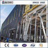 Ignifugation Earthquake-Proof atelier de construction en acier préfabriqués avec grue