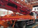 camion neuf de pompe concrète de châssis du modèle 4*2 HOWO de 37m en vente