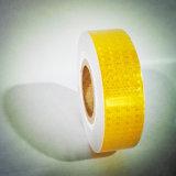 Bande r3fléchissante jaune de PVC pour la sûreté